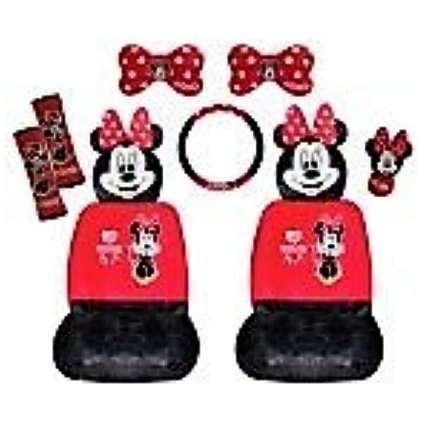 Minnie Mouse Autozubehör Set 10 Teilig Minnie Mouse Auto