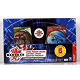 Bakugan - Battle Brawlers - Card Power House - Pyrus - 30 Bakugan Cards - 6 Special Collectible Cards