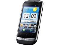 Huawei Huawei Ideos X3 (U8510 Blaze) Handy (8,1 cm (3,2 Zoll) Display, kapazitiver Touchscreen, 3,2 Megapixel Rückkamera, VGA Frontkamera, Android 2.3) schwarz