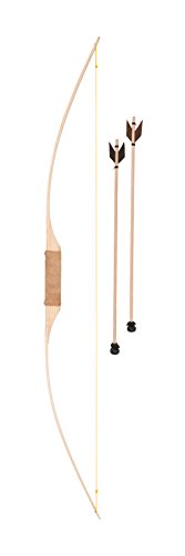 Fantashion W 119 - Holzlangbogen mit zwei Pfeilen