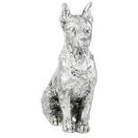 Doberman Pinscher Figurine - Dog Figurine by
