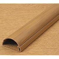 D-Line, 30 x 15 x 1 m, confezione da 2, lunghezza 50 cm, colori assortiti, 2 x 500 mm, lunghezza di 30 x 15 D-Line Canalina, plastica, marrone, 30x15x1m (2x50cm)