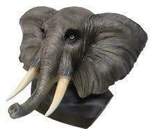 The Rubber Plantation 619219293242 - Disfraz de elefante africano de látex, talla única