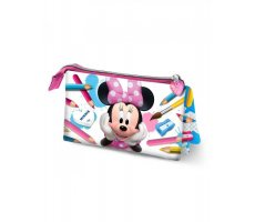 Karactermania Minnie Mouse School Estuches, 23 cm, Rosa