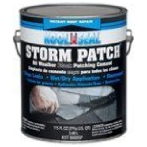 Kool Seal KST0000SP Storm Patch Black All-Weather Rubberized Cement by Kool Seal