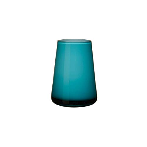 Villeroy & Boch Numa Mini Vase, blau, türkis (Caribbean Sea), 12 x 9 x 6 cm