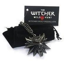 The Witcher 3: Wild Hunt - Pendentif - Tête de Loup - Alliage de Zinc
