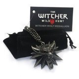 The Witcher 3: Wild Hunt - Pendentif - Tête de Loup - Alliage de Zinc