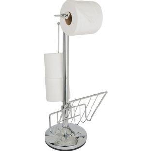 Heart of House Freestanding Toilet Roll Holder (222644355)