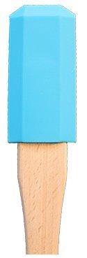 Schwinger Prinz Spachtel für Hochleistungs Mixer (hellblau)