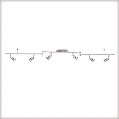 Paulmann Nice Price Spotlights F Stange 6 X 50w Gu10 Nickel Satiniert 230v Metall von Paulmann