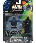 Star Wars Action Playset mit Figur 69847 - Gunner Station Tie Fighter mit Darth Vader (Action-figur Vader Darth)