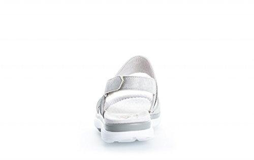 Gabor Damen rotolamento sandalo morbido 66.914.90 argento silber