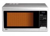 LG MH2342BPS 800-Watt Grill Microwave Oven (Silver)