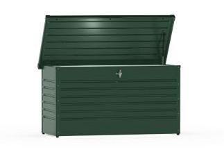 Biohort Freizeitbox 130 dunkelgrün von Holzmarkt Riegelsberger auf Du und dein Garten