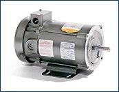 BALDOR CDP3585 145TC Frame TEFC DC Motor, 2 hp, 1750