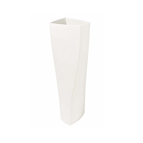 ASA Selection Twist Vase weiss 50cm (halbhohe Bodenvase)