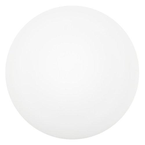 Eglo 91685Plafonnier, métal, intégré, blanc