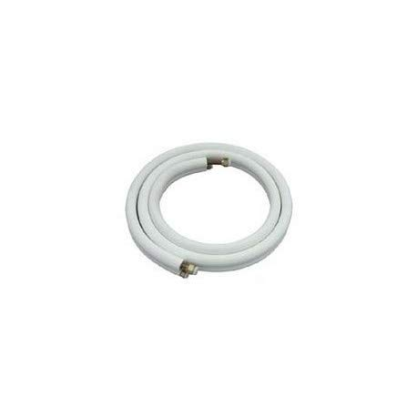 REPORSHOP - 5m Cable de Cobre 1/4 + 3/8 Pulgadas doble Tubería de refrigerante