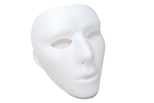 Female Mask Blank Female Mask mask cosplay white (japan import)