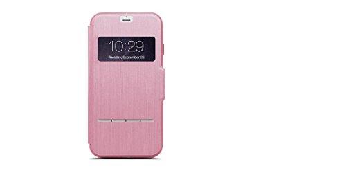Moshi 99MO072308 Funda para teléfono móvil Folio Rosa - Fundas para teléfonos móviles (Folio, Apple, iPhone 7 Plus, Rosa)