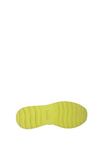 HXW2960V142D5QOL96 Hogan Sneakers Femme Tissu Noir Noir