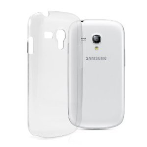 PRAVARA Premium Quality Transparent Silicone back cover case for SAMSUNG Galaxy S3 Mini  available at amazon for Rs.159