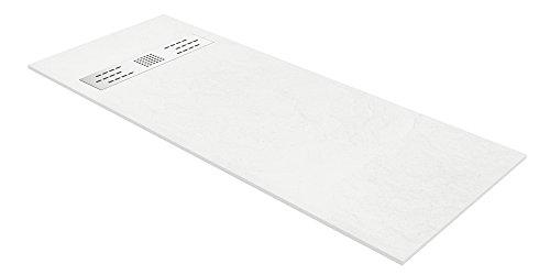 Pemek Monaco - Plato de ducha (grosor 3 cm) color blanco