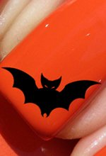 Halloween chauve-souris - Stickers pour ongles YRNAILS
