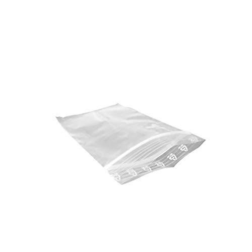 Frage Dc Kostüm - Naisicatar 100Pcs PE Transparent Zip Lock Plastic Bag Schmuck Ziplock Zip Zip-Verschluss wiederverschließbaren Plastik-Poly Klar Taschen Kleine Verpackung Beutel (9 * 6cm) Gute Wahl