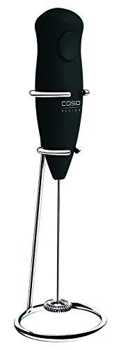 Caso 1610 Fomini Milchaufschäumer, Cremigster Milchschaum, mit Edelstahlfeder und Edelstahl-Standfuß