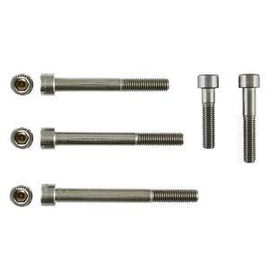 Zylinderschrauben M6 x 55 Edelstahl A2 70 DIN912 Innensechskant 200 Stk (Z00155822)