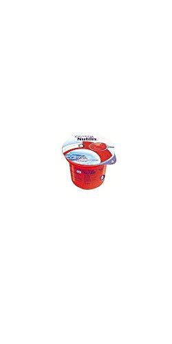 nutilis acqua eau gélifiée grenadine 125 g 12 pièces