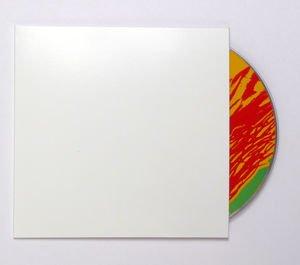 Bags Unlimited SCDJW WHT Cdboard CD-Jacke, ohne Loch
