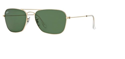 Ray Ban RB3136 001 55M Arista/Crystal Green+FREE Complimentary Eyewear Care Kit