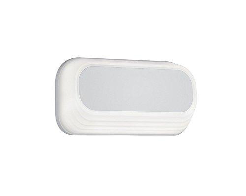 Trio Leuchten 227960131 - Lámpara empotrable de exterior, acrílico, 6W, color blanco