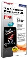 iPod Touch 2/3G Schutzfolie 2er: Premium-Displayschutz mit höchster Transparenz! Premium Ipod Touch