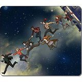 Gaming Mouse Pad, Large Mouse Mat 12.87x11.02x0.15 IN, Customizable Doctor Who And Companions Natural Eco Rubber Oblong MousePad Computer Desk Stationery Accessories Mouse Pads For Gift by mouse pad