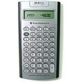 Texas Instruments TI-BA II Plus Professional Calculadora Financiera - 10 Character(s) - LCD - Battery Powered IIBAPRO/CLM/4L1/A