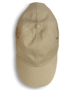 anvil Herren Low Profile Twill Cap 6 Panel / 156 one size,Khaki Low-profile Twill Hut