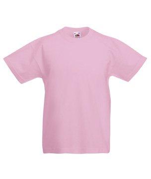 Valueweight T Kids - Farbe: Light Pink - Größe: 128 (7-8)