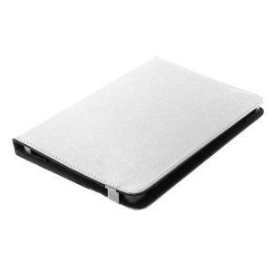 Bookstyle Tablet PC Tasche Etui Hülle Book Case weiss mit Standfunktion passend für Odys Neo Quad 10