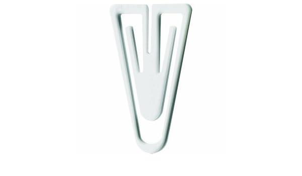 Laurel B/üroklammern Plastiklips 60mm VE=75 St/ück schwarz