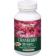 Nature's Plus Ultra Cranberry Chewable Pack Of 3 180 Chewable