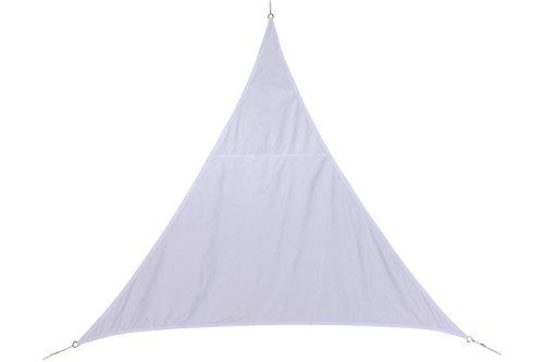hesperide–117746–Tela solare tenda parasole di 3x 3x 3m per oscurare il tuo giardino, terrazzo o il balcone–Colori Bianco