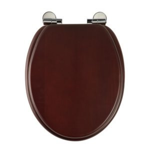 Roper Rhodes Solid Wood Soft Close Toilet Seat Walnut by Roper Rhodes