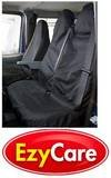 AUTO IN MOTION CAR PARTS & ACCESSORIES E2Y2997 Black Heavy Duty Van Seat Covers Single Drivers and Double Passengers Seat Covers Set - AUTO IN MOTION CAR PARTS & ACCESSORIES - amazon.co.uk