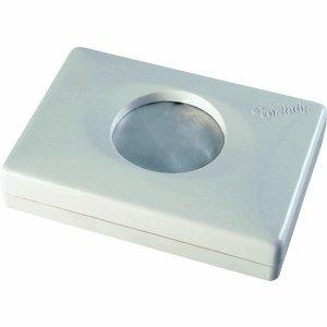 PAPSTAR Hygienebeutelspender Kunststoff 94x26x134mm weiß
