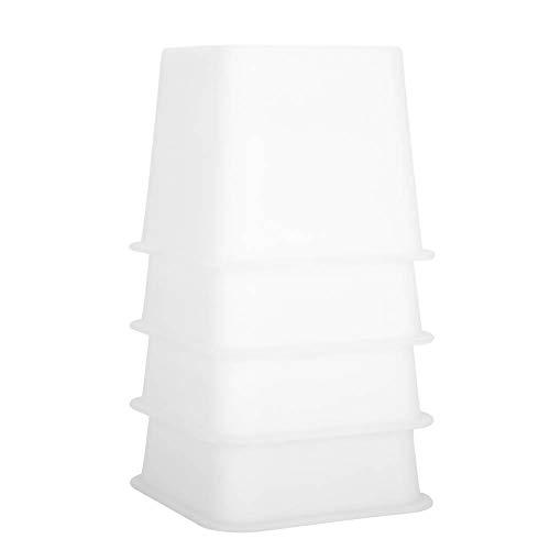 Braun Lagerung Couch (Bed Chair Riser, stapelbare Möbel-Aufstehhilfen aus Kunststoff, 4,7 * 4,7 * 3,9 Zoll, unterstützt 1000 lbs)