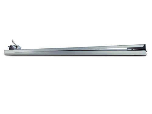 Aluminium a-holder Form Halter 8.5 x 14 Inches Aluminum, Gray (Clipboard-halter)